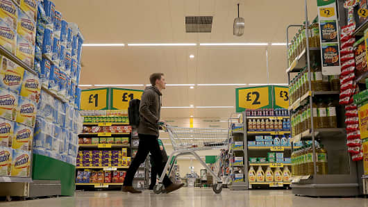 United Kingdom  retail sales 'slow in January'