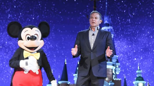 Bob Iger, Chairman and Chief Executive Officer of The Walt Disney Company.