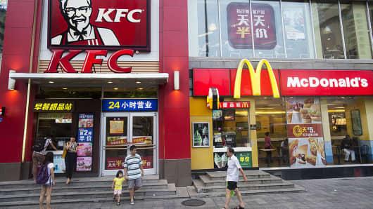 Yum Brand, McDonalds, KFC