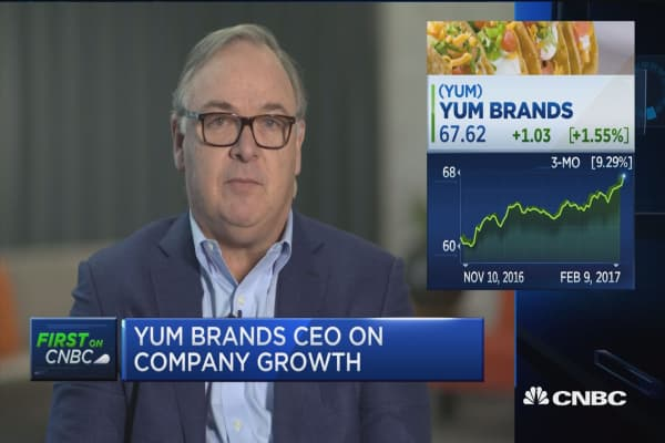 Yum CEO on Pizza Hut: We've got a lot of work to do