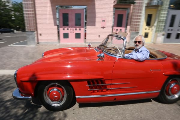 How a high school dropout became a millionaire and the king of classic cars
