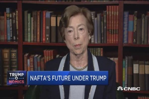 NAFTA's future under Trump