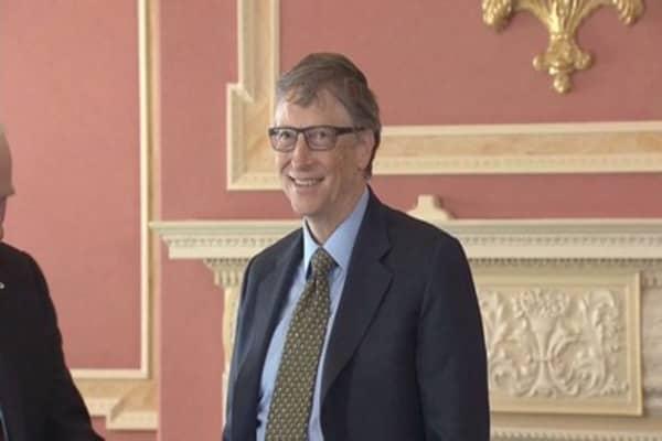 Bill Gates sees global health in jeopardy