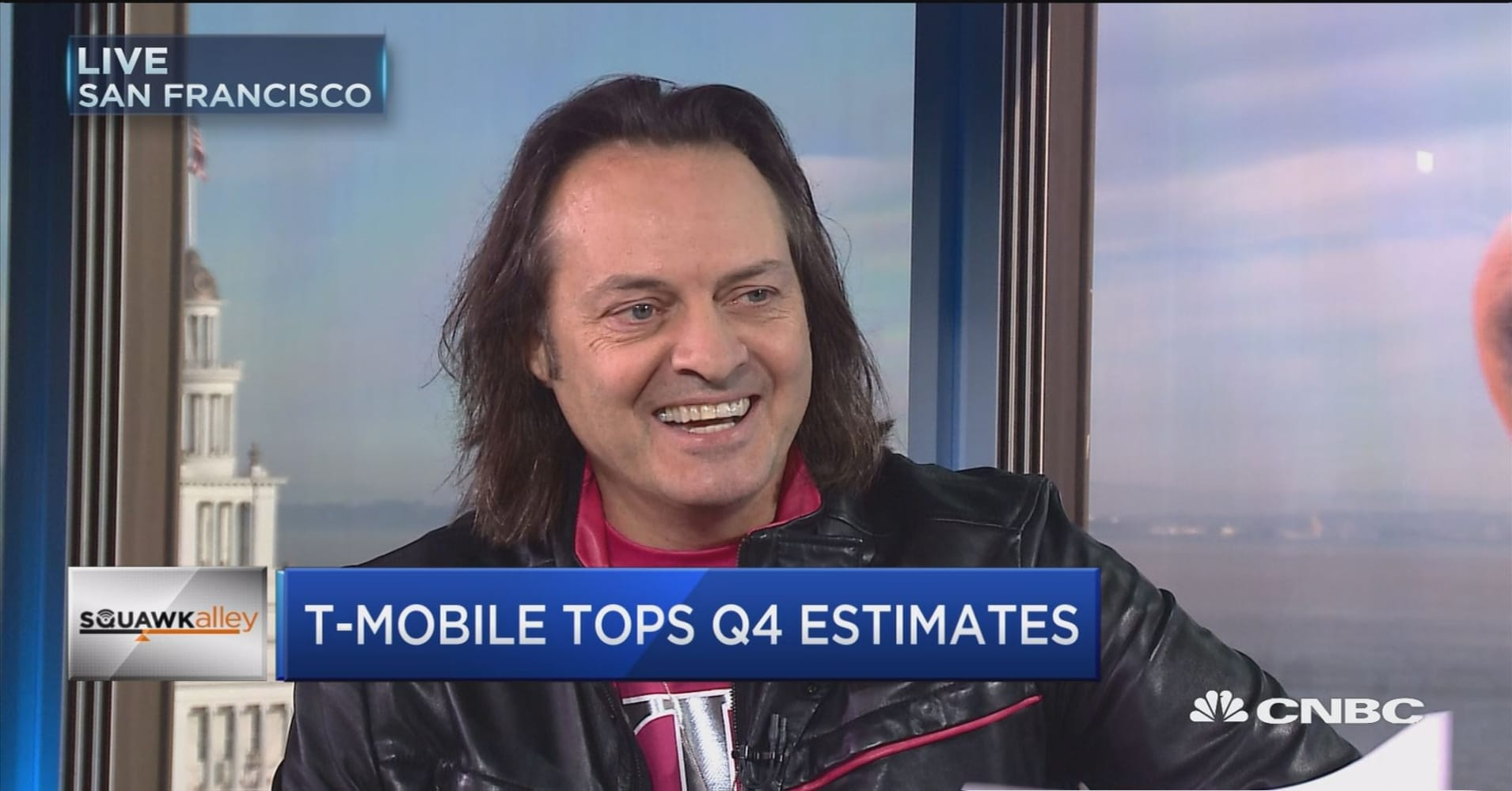 Full interview with T-Mobile CEO John Legere on earnings, countering Verizon's data plan