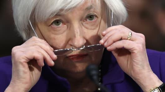 Federal Reserve Board Chairwoman Janet Yellen