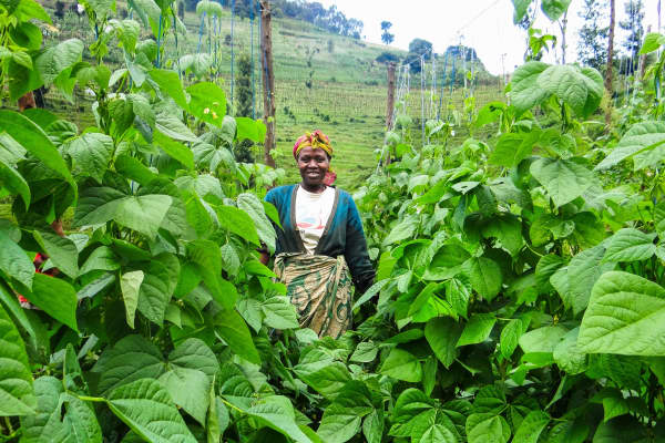 Elevanie, Rwanda Bean Farmer