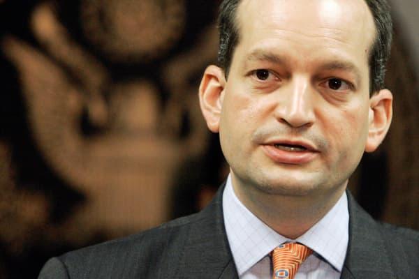 U.S. Attorney R. Alexander Acosta in 2008.