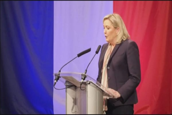 AI machine predicts Marine Le Pen will be France's next president