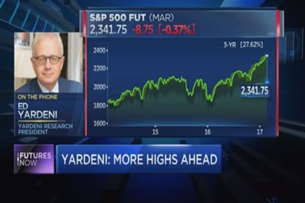 Yardeni: Improving economy is a catalyst for stocks
