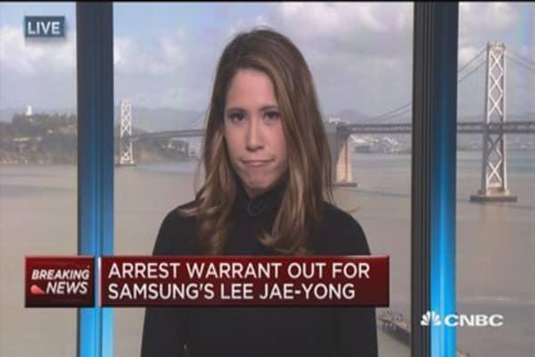 Arrest warrant out for Samsung's Lee Jae-yong