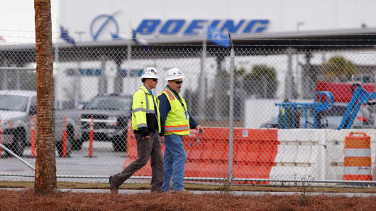Trump visits Boeing in SC  today