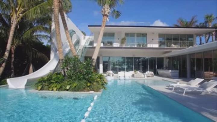 Next on | Secret Lives of the Super Rich: A $34 Million Miami Mega-Home
