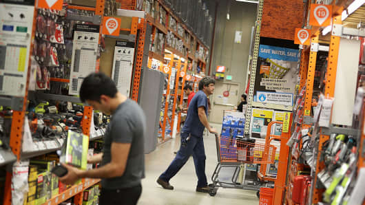 Home Depot profit beats estimates, sets $15 bln buyback