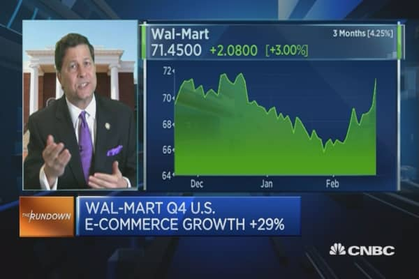 More uptick possible in Wal-Mart: Pro