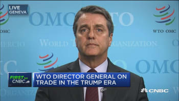 WTO Chief: I think there is a general perception that this is a win-win agreement, it reduces cost