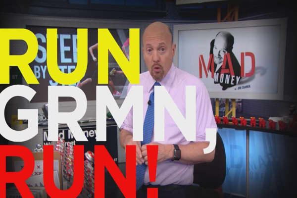 Cramer Remix: How Garmin could outrun Fitbit