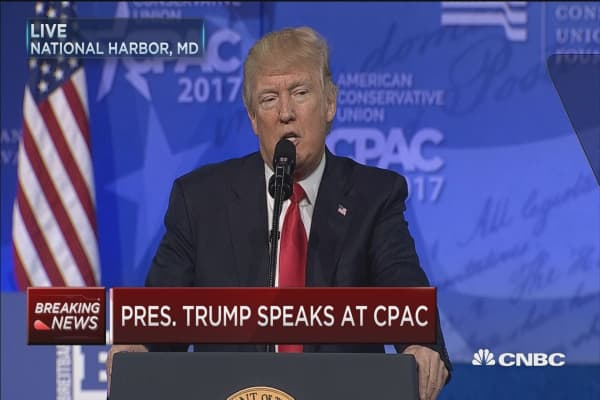 Trump: Now is the time for action
