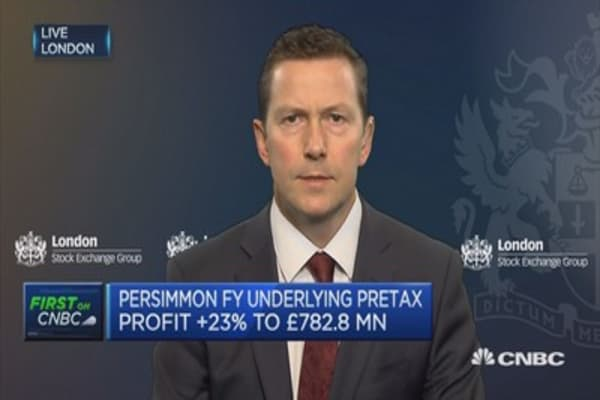 Got confidence to push forward and build more homes: Persimmon CEO