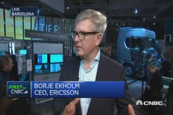 Momenutm building behind 5G: Ericsson CEO
