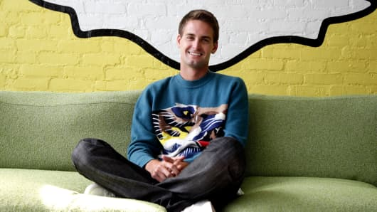 Snapchat float price values the business at nearly  $24bn