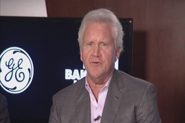 GE's CEO Jeffrey Immelt said the U.S. is diverging from the rest of the world.
