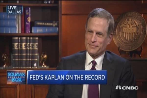 Fed's Kaplan: Taking steps to remove accommodation