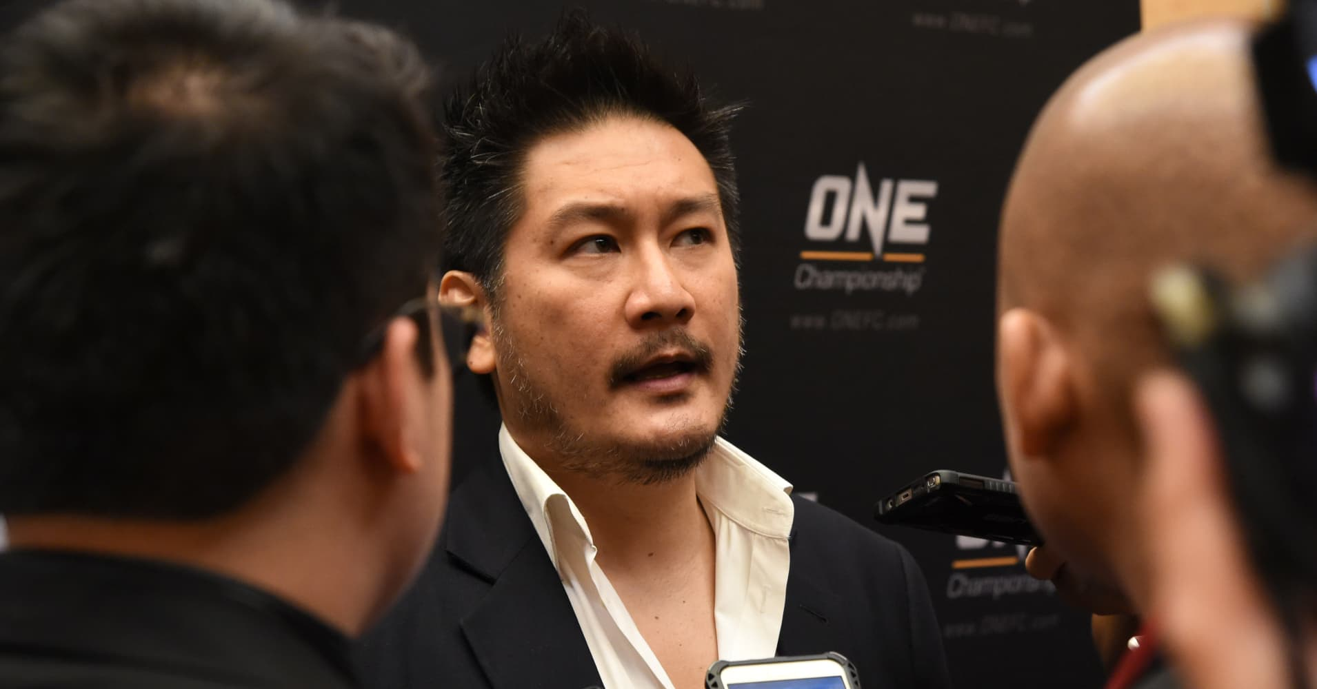 ONE Championship founder and chairman Chatri Sityodtong at the Asia MMA Summit 2016 in Singapore on September 22, 2016.