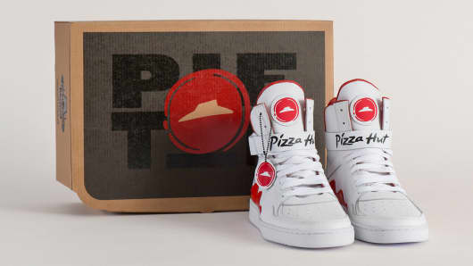 NCAA Campaign Features Sneakers That Can Order Pizza Hut