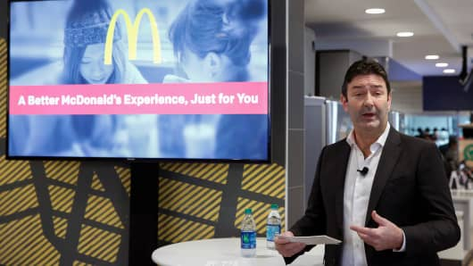 McDonald's gets in the game with mobile order and pay