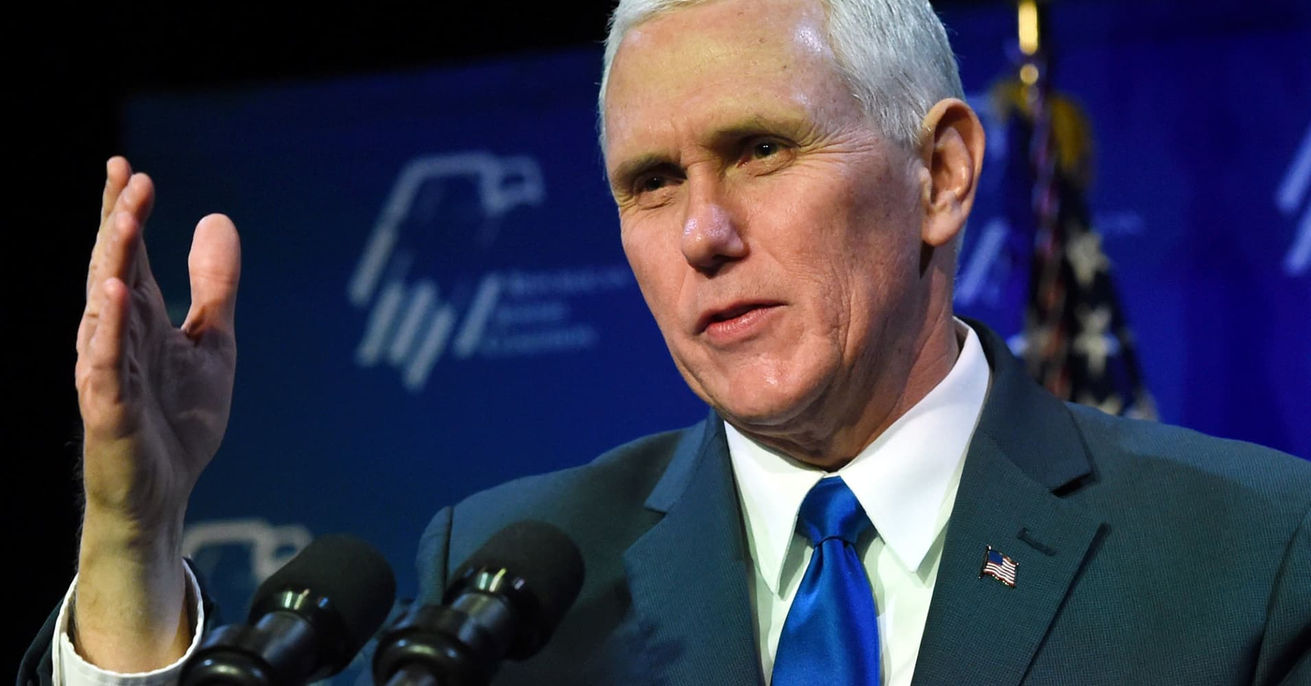 Questions arise about Mike Pence as controversies engulf the White House