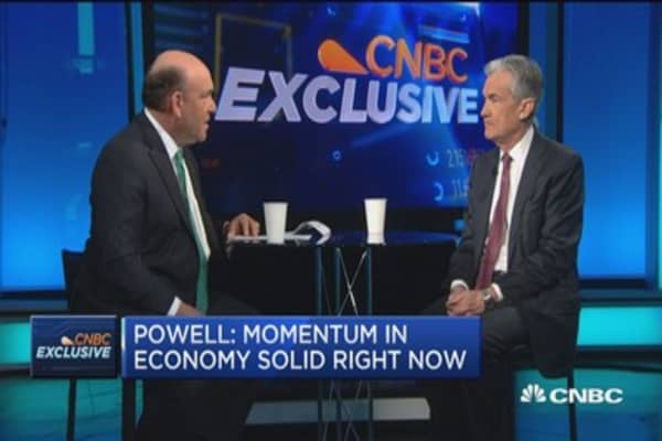Fed governor Powell: Economy is right where it needs to be