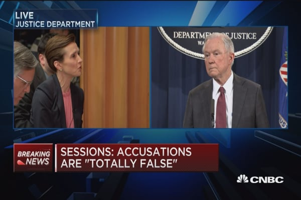 Sessions: Told White House counsel about recusal decision