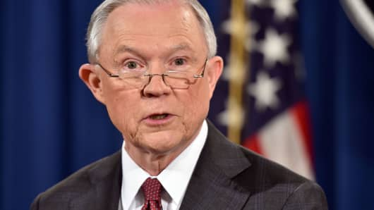 Jeff Sessions Does Not Think Your Local Police Department Is His Problem