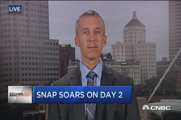 Snap a good omen for tech IPOs?