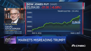 Stockman on the markets under Trump