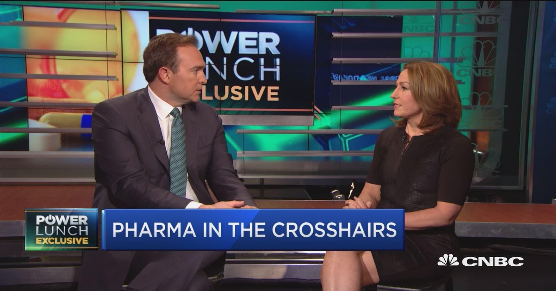 Full interview with Mylan CEO Heather Bresch on drug pricing, Trump