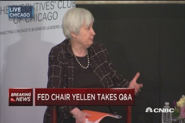 Yellen: Little we can do to affect labor force growth