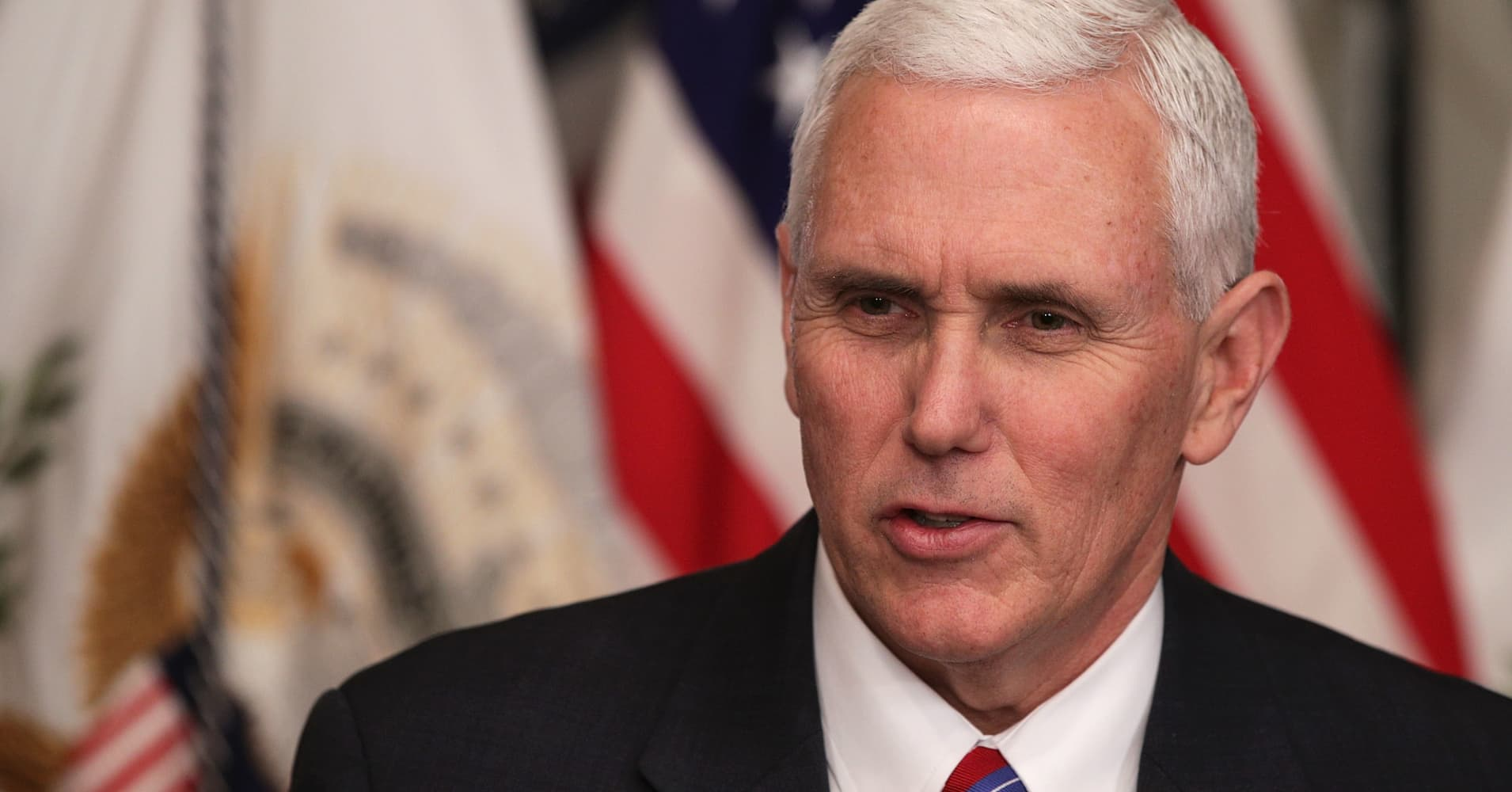 Pence: Trump tax plan could increase deficit 'maybe in the short term'