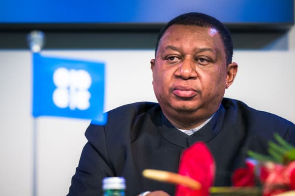 OPEC Secretary General Mohammad Barkindo