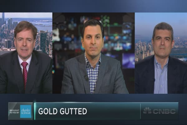 The two sides of the gold story