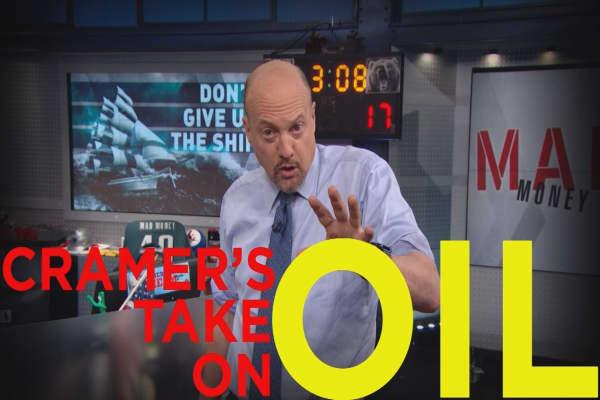 Cramer Remix: Don't abandon oil stocks, do this instead