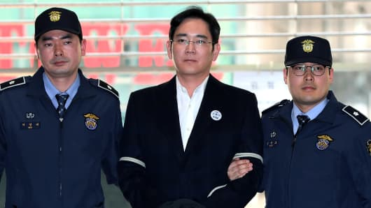 Samsung Chief Denies All Corruption Charges at Preliminary Hearing