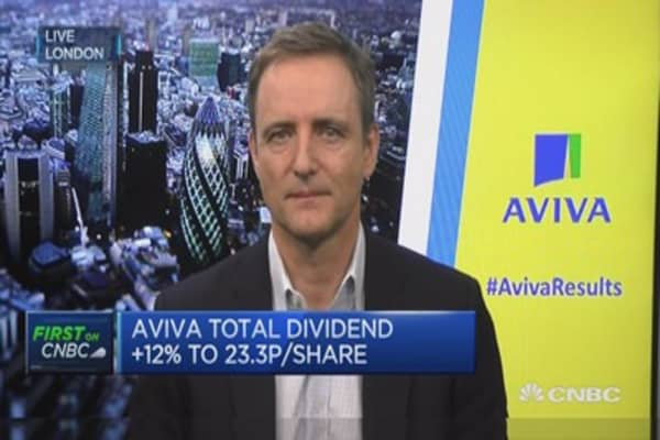 Aviva CEO: Will see some inflation in UK during 2017