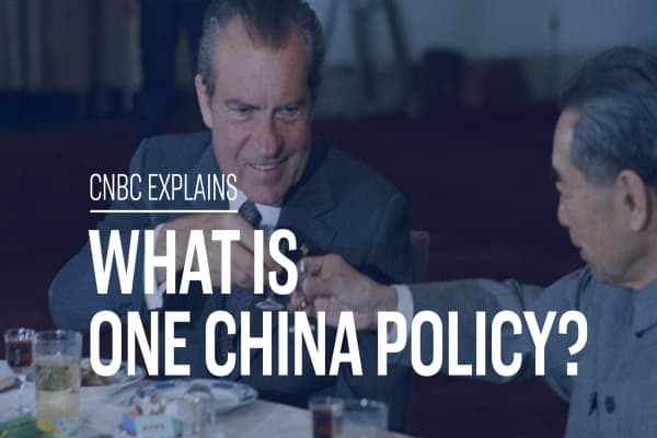 What is the 'One China Policy'?