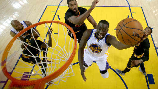 Draymond Green #23 of the Golden State Warriors.