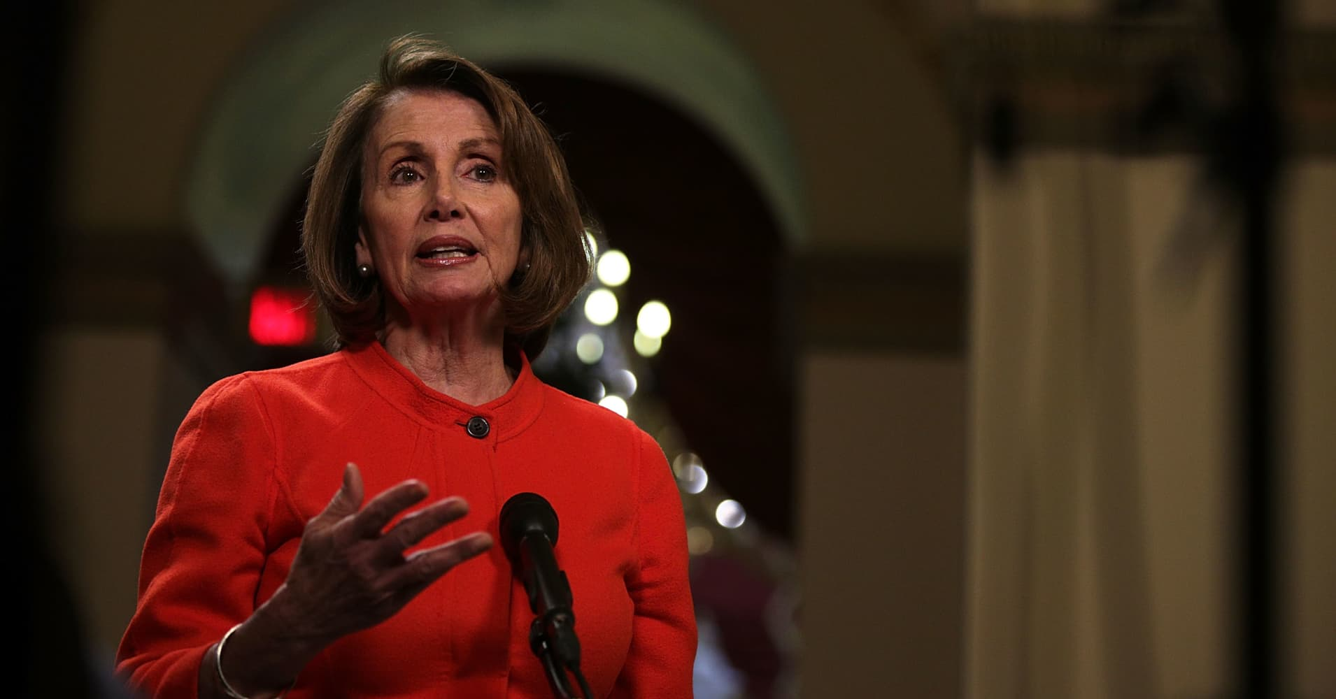 Watch: House Dem leader Pelosi on where things stand with GOP health-care bill