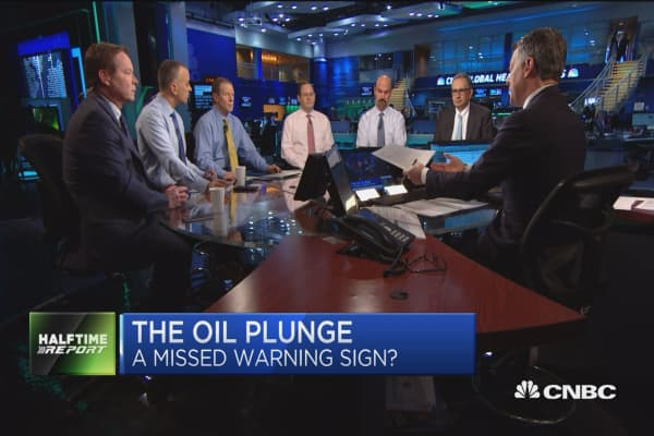 Image result for CNBC oil plunge march 9 2017