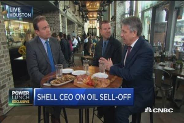Shell CEO: Break even price is $40 in Permian