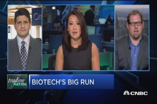 Biotech's big run