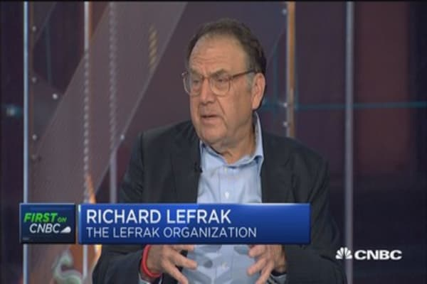 Trump wants projects he can implement immediately: Richard LeFrak